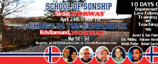 School Of Sonship – Norway 2015